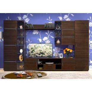 """Мебель для гостиной """"Стелла"""" венге"""