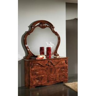 Комод с зеркалом Камелия
