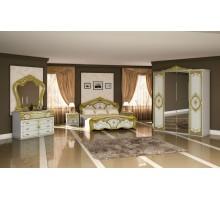 Спальня Элана белый/золото