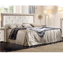 Кровать Диамант Премиум серебро