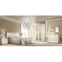 Модульная спальня Диамант серебро