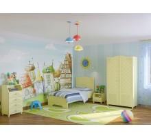 """Мебель для детской комнаты """"Мэри"""" 02"""