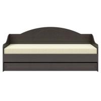 Кровать с ящиком Мэри Премиум венге