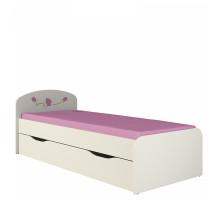 Кровать Соня 0.9 с ящиком розалия