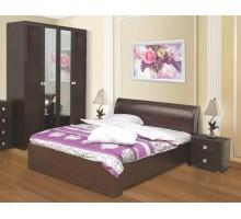 Кровать Елизавета венге