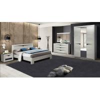 Модульная спальня Эллада (бетон пайн белый/венге)