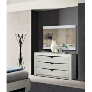 Комод Эллада (бетон пайн белый/венге), цена от 7240 руб.: купить с доставкой по Москве и области в интернет-магазине «Мебель Для Вас»