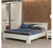 Кровать Эллада (ясень анкор светлый/венге)