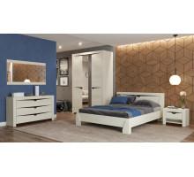 Модульная спальня Эллада (ясень анкор светлый/венге)
