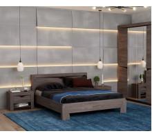 Кровать Эллада (ясень анкор темный/венге)