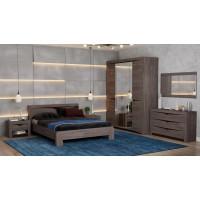 Модульная спальня Эллада (ясень анкор темный/венге)