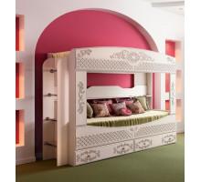 Кровать 2-х ярусная Ника