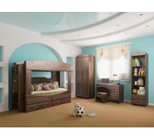 Мебель для детской комнаты Ника 02 дуб кальяри/дуб шеппи