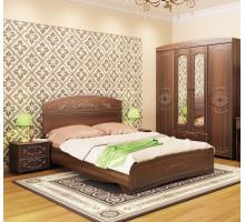 Кровать Ника дуб кальяри/дуб шеппи