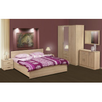 Модульная спальня Кристина дуб