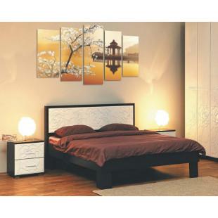 Кровать Петра венге