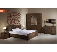 Модульная спальня Альянс орех Рибек