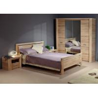 Кровать Империя дуб бардолино