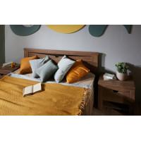 Кровать односпальная Клариса дуб