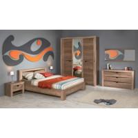 Модульная спальня Клариса дуб