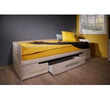 Кровать Штудгард с ящиками односпальная