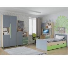 Мебель для детской комнаты Алан 01 клен/титан
