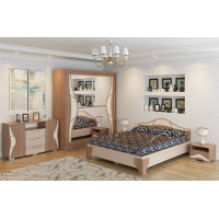 Модульная спальня Дублин ясень