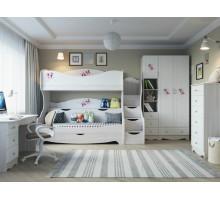 Мебель для детской комнаты Нежность 01