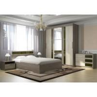 Модульная спальня Сабрина 02 ясень