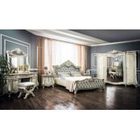 Модульная спальня Кристиано корень ясеня глянец