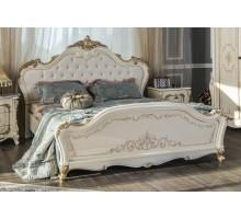 Кровать Джоанна крем глянец