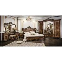 Модульная спальня Флоренция корень дуба глянец