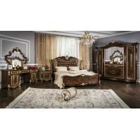 Модульная спальня Венди корень дуба глянец