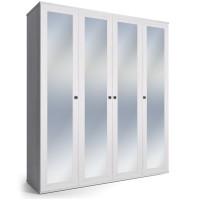 Шкаф 4-дверный Парма Нео ясень Анкор