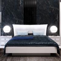 Кровать-4 с ПМ Парма Нео ясень Анкор