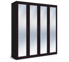 Шкаф 4-дверный Парма венге