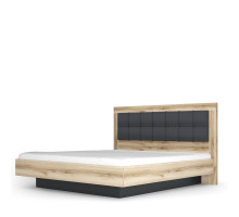 Кровать-5 Вега Скандинавия антрацид
