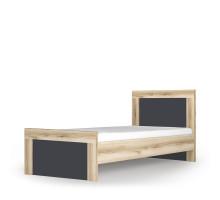 Кровать Вега Скандинавия односпальная антрацид