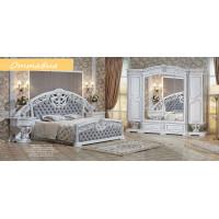 Модульная спальня Оттавиа серебро