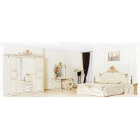 Модульная спальня Венди крем
