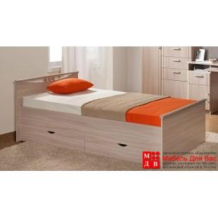 Кровать Лаура  глянец односпальная