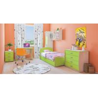 Мебель для детской комнаты Лайм 03