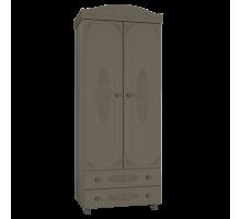 Шкаф комбинированный Анжелика плюс грей