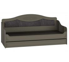 Кровать Анжелика плюс 0.9 с ящиком грей