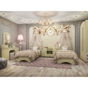 Мебель для детской комнаты Анжелика плюс 04