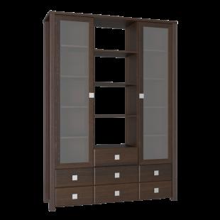 Шкаф комбинированный Клэр орех