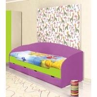 Кровать с ящиками Юна