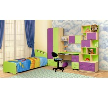 Мебель для детской комнаты Юна 04