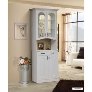 Витрина Ванесса 2-дверная с нишей