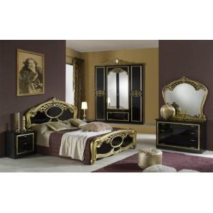 Модульная спальня Гера черная